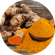 La curcumine liposomale, extraite du curcuma, est un antioxydant et anti-inflammatoire naturel puissant que l'on considère aussi efficace que l'ibuprofène contre l'arthrose et les douleurs arthritiques, mais sans effets secondaires. C'est un ingrédient important du SynerDOl, l'anti-douleur analgésique naturel SynerJ-Health créé par Jacques Prunier.
